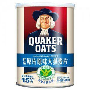 桂格原片原味大燕麥片