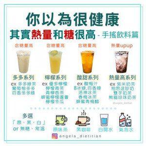 減脂期間避免選擇的手搖飲料種類