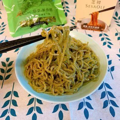胡麻蒟蒻麵