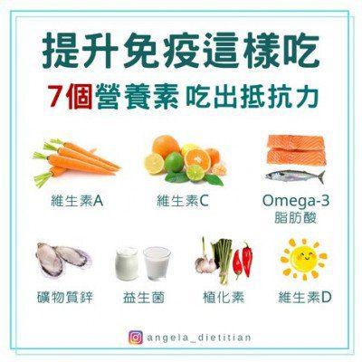 提升免疫力食物