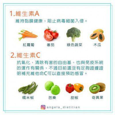 免疫力營養食物