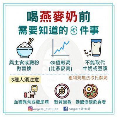 減肥燕麥奶常見問題