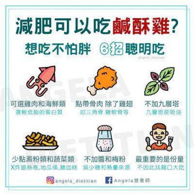 減肥鹹酥雞6招這樣吃不怕胖