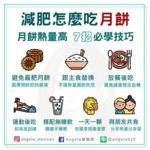 中秋減肥吃月餅 七招不怕胖